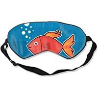 Natural Silk Eyes Mask Sleep Spit Bubble Goldfish Blindfold Eyeshade with Adjustable for Travel,Nap,Meditation... preisvergleich bei billige-tabletten.eu