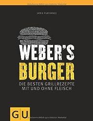 Webers Burger - Burger mit Gurken Raita