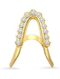 Malabar Gold And Diamonds 22KT Yellow Gold And Diamond Ring For Women - B07B55X197