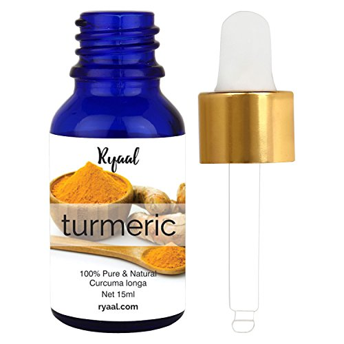 Turmeric Essential Oil -15ml- (100% PURE & NATURAL - UNDILUTED) Therapeutic Grade - Perfect for Aromatherapy, Relaxation, Skin Therapy & More! (15ml)