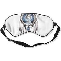 Eye Mask Eyeshade Wolf Catcher Drawing Sleeping Mask Blindfold Eyepatch Adjustable Head Strap preisvergleich bei billige-tabletten.eu