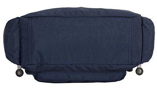 Big Handbag Shop - Borsa a tracolla unisex (Turchese profondo)