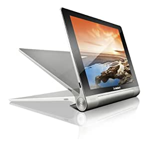 Lenovo Yoga 8-inch Tablet (Silver Grey Metal) - Tablet (Quad Core 1.2GHz, 1GB RAM, 16GB eMMC, WLAN, BT, 2x Camera, Android 4.2)