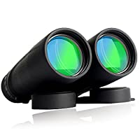 LaDicha 10x42 Binocular HD Optic BAK4 Prism Brid Watching Spotting Telescope