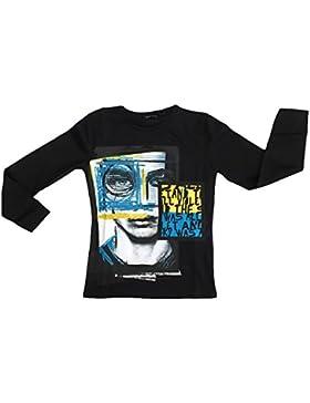 Antony Morato Bambino MKKL00160 Nero T-Shirt Autunno/Inverno