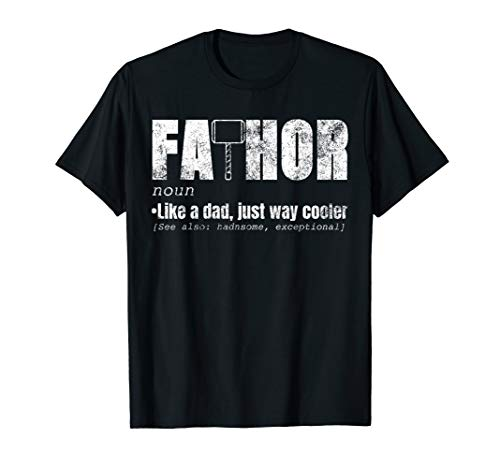 36a14f2347091 Fa-Thor Like Dad Just Way Cooler Shirt Fathers Day Gift Hero T-Shirt