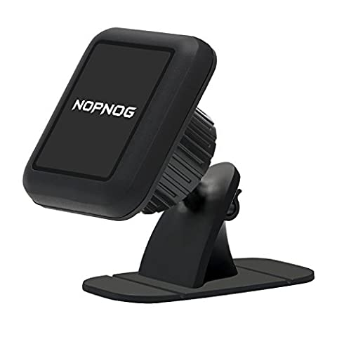 NOPNOG Magnetic Car Mount Cell Phone Holder Universal Dashboard Stand Cradle Uber Safe Drive GPS for iPhone 7/ 6S/ 6Plus Samsung Galaxy S7/ S6 Moto LG Google Pixel XL/ Nexus 6P HTC