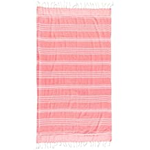 Toalla pareo rosa fluor 95x170 cm