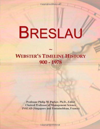 Breslau: Webster's Timeline History, 900-1978