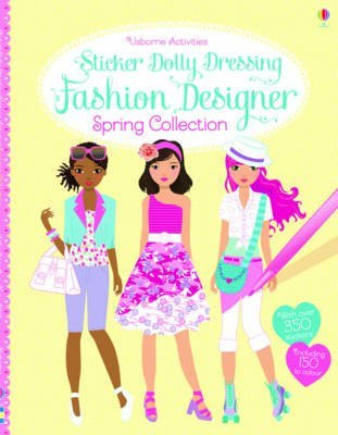 [Sticker Dolly Dressing Fashion Designer Spring Collection] (By: Fiona Watt) [published: February, 2014] (Sticker Dolly 2014)