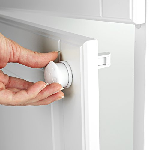 roynoy | 2 x Magnetschlüssel für Schubladensicherung und Schranksicherung | Magnetschloss | Magnetische Kindersicherung unsichtbar | Ersatz | Zusatz