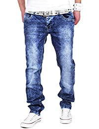 MT Styles Jeans Straight Fit pantalon homme RJ-231