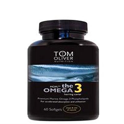 Tom Oliver Nutrition Herring Caviar Oil 60 Capsule from Tom Oliver Nutrition