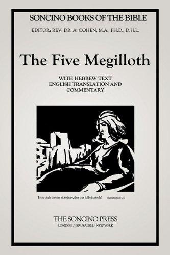 The Five Megilloth (Soncino Books of the Bible) por A. D. Cohen