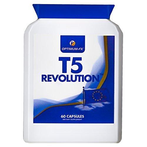 T5 brucia grassi per uomini e donne - pillole dimagranti t5s massima forza perdita peso dieta pillole - 60 capsule garanzia soddisfatti o rimborsati: t5 revolution