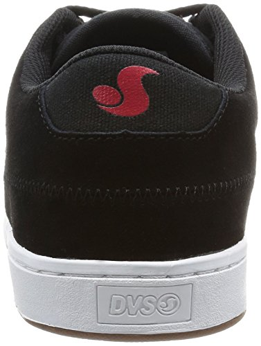 DVS Shoes Quentin Herren Sneaker Black Rasta Suede