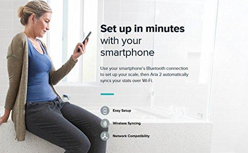 Fitbit FB201W Personenwaage Wifi Aria weiss - 4