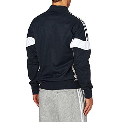 adidas Herren Clr84 Tracktop Sweatshirt, Blau Mehrfarbig/Tinley/Grpumg