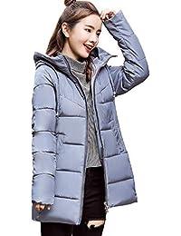 Abrigo de Invierno, ZARLLE Elegante Abrigo Acolchado Impermeable Invierno Ultra-Caliente con Capucha Mujer
