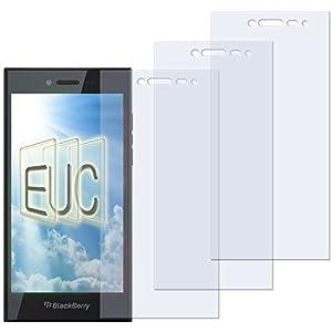 3 x Displayschutzfolie matt/entspiegelnd für Blackberry Leap