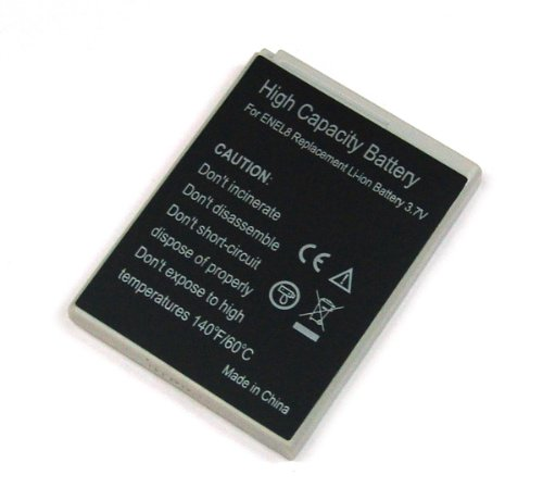 Akku passend zu EN-EL8 Nikon Li-Ion, Accu (En-el8)