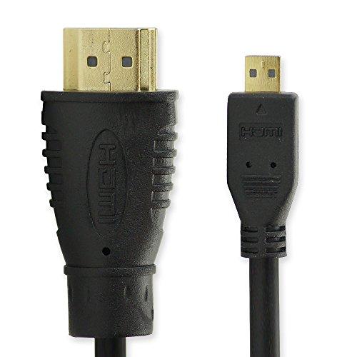 subtel HDMI Kabel (3m, Micro HDMI) für Lenovo IdeaPad S6000, IdeaPad Miix 2-11/300 / 700 IdeaPad A2109A, Yoga 2/3 Pro