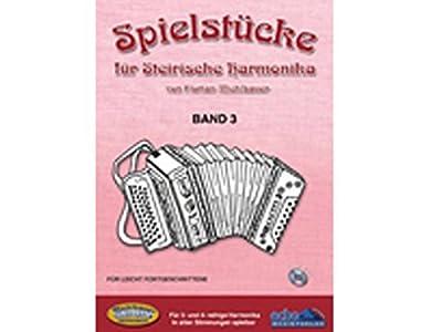 Spielstuecke für steirische Harmonika mit CD Band 3