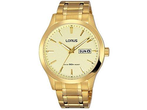 Orologio uomo LORUS modello classico dorata–rxn22dx9