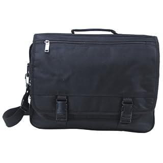 Tasche Laptop, schwarz, mit Trageriemen