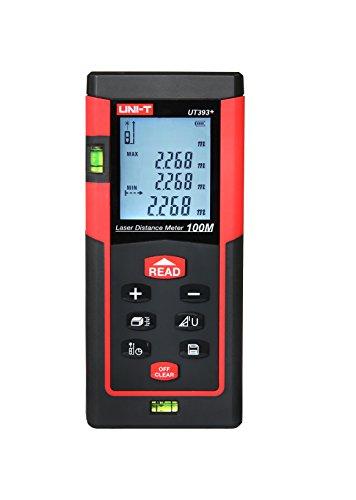 Preisvergleich Produktbild YARBAR UNI-T UT393+ 100m Handdigital Laser Entfernungsmesser Entfernungsmesser