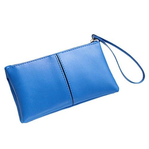 Greenlans , Damen Clutch, schwarz (schwarz) - ZIA0153424LKP9K5429 blau