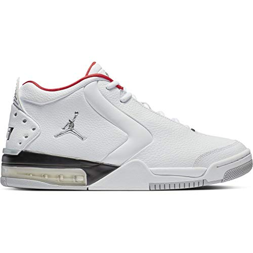 huge selection of af31b f1204 Jordan Herren Big Fund Fitnessschuhe Weiß (White Metallic Silver Black 000)  44.5