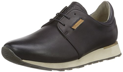 El Naturalista Walky Unisex-Erwachsene Low-Top Schwarz (Ebony)