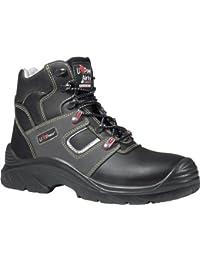 U de Power Zapatilla de iroko S3ESD zapato de seguridad para hombre, color Negro, talla 42 UE