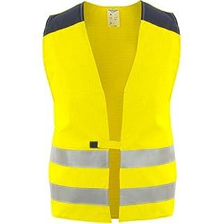 Asatex WW05G2 XXL High Visibility Vest, Bright Yellow, 2X-Large
