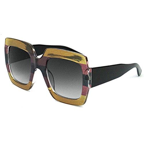 GCC Sonnenbrillen Mode 3-Farb-LCD-Sonnenbrille,