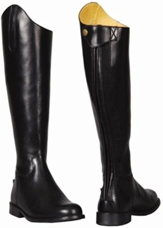 Las mujeres TuffRider barroco botas de vestir, negro, ancho 75