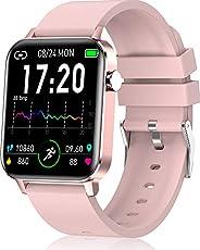 andfive Smartwatch, Orologio Donna Smart Watch Fitness Tracker, Orologio Sportivo, Contapassi da Polso Conta C