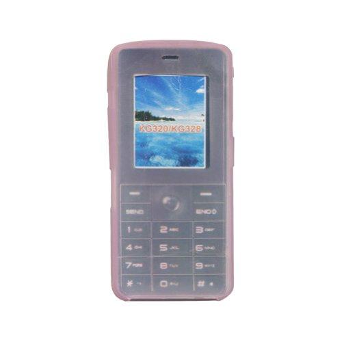 Bluetrade Silikontasche rosa für LG KG320