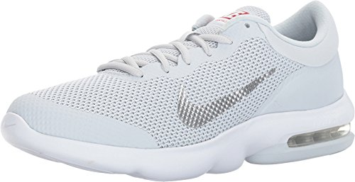 Nike Air Max Herren Turnschuhe, Advantage, Silber - (42 grau/weiß (Pure Platinum/White-Wolf Grey) - Pure Advantage Air