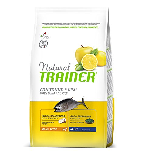 Cibo per cani Trainer NATURAL ADULT MINI TONNO GR.800