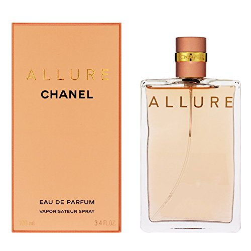 Chanel Allure Women EDP Spray 100 ml, 1er Pack, (1x 100 ml) (Allure Chanel Parfüm De)
