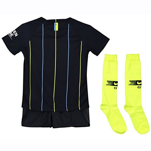 Nike 2018-2019 Man City Away Little Boys Mini Kit