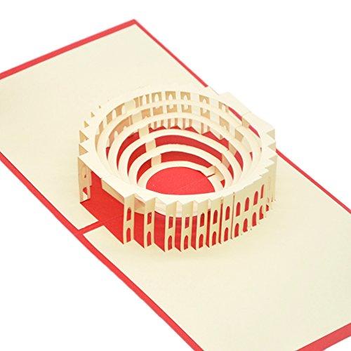 ßkarte Congratulations für die meisten occastions, der römische Colosseum ()