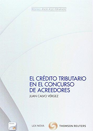 El crédito tributario en el concurso de acreedores