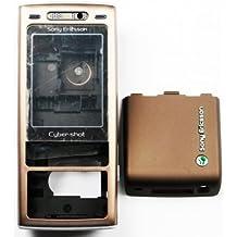 Guscio per SonyEricsson K790 Brown (Front+Lens+Middle+B.C+Flip Camera)