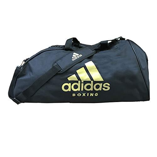 innovative design 5cccd 831a4 adidas Sports Bag Shoulder Strap L Boxing, Set di asaiugamani Unisex, Nero  Oro