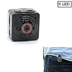 Mini Spy Camera, Pannovo Mini Dv 1080p Full Hd H.264 12.0mp Spy Camera Motion Detection Video Camera Night Vision