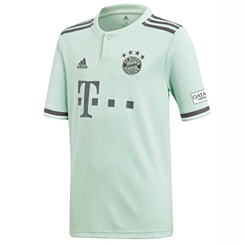 adidas Kinder 18/19 FC Bayern Away Trikot, Ash Green/Trace Purple/White, 152 Preisvergleich