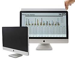 24 Inch Privacy Screen Filter for Widescreen Computer Monitor/LCD (16:10 Aspect Ratio). Original Anti Glare Protector Film for data confidentiality - (24